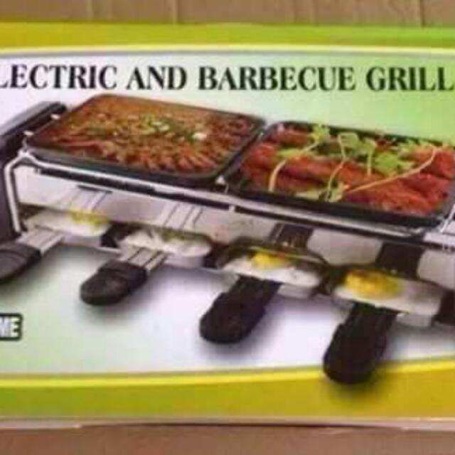 2 Layer Electric BBQ Grill