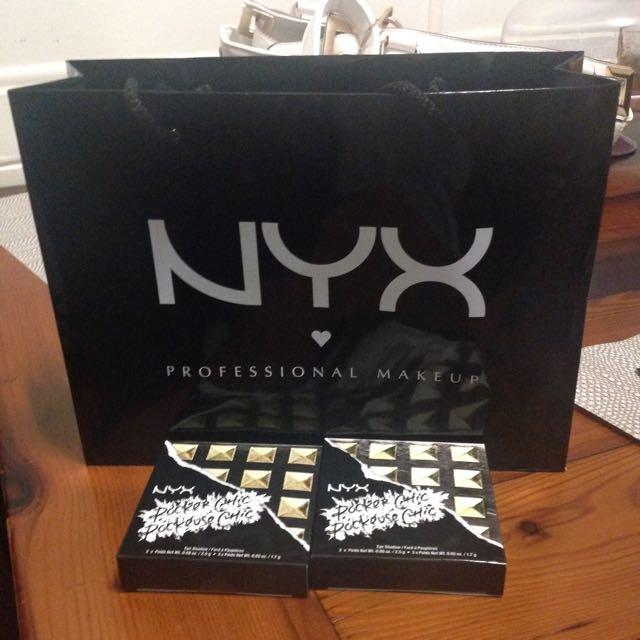 2x NYX Palettes UNOPENED