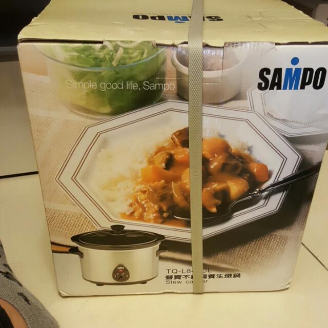 聲寶不鏽鋼養生燉鍋(4公升)