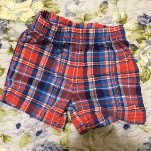 9M Carter's 九個月寶寶短褲