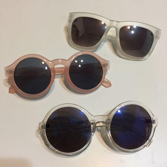 各式眼鏡、太陽眼鏡