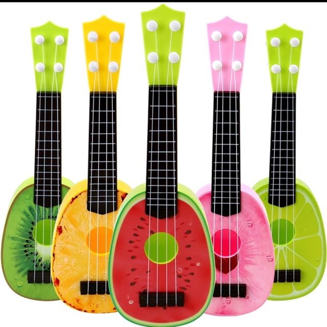 兒童仿真迷你小吉它玩具