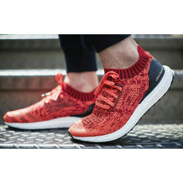 b9e5750be Adidas Ultra Boost Uncaged Solar Red