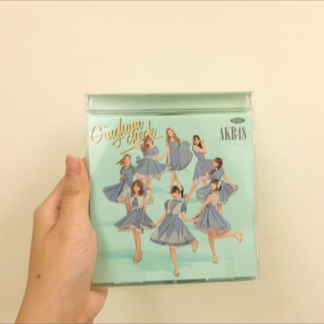 AKB48 Gingham Check(格子花紋)台壓type-b