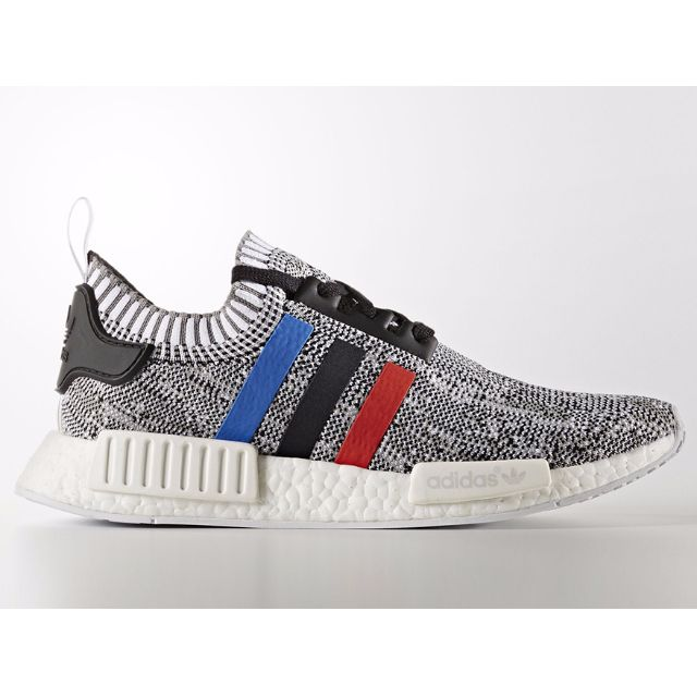 premium selection 0a2e9 9836a Authentic Adidas NMD R1 Primeknit (Running White / Core Red / Core Black)