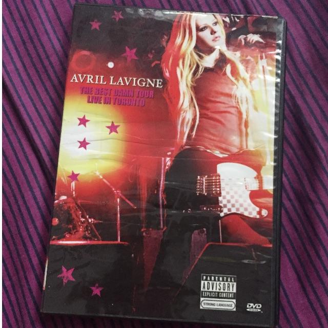 Avril Lavigne Concert DVD