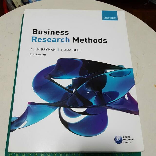 Business research methods 3rd edition by alan bryman emma bell photo photo photo photo photo fandeluxe Image collections