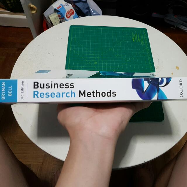 Business research methods 3rd edition by alan bryman emma bell business research methods 3rd edition by alan bryman emma bell books stationery textbooks on carousell fandeluxe Image collections