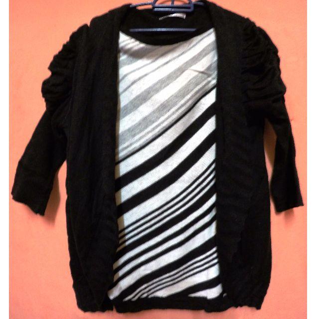 Cardigan blouse