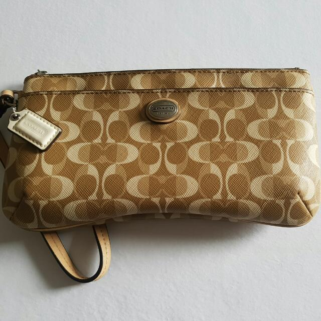 Coach Wallet price reduced quick sale