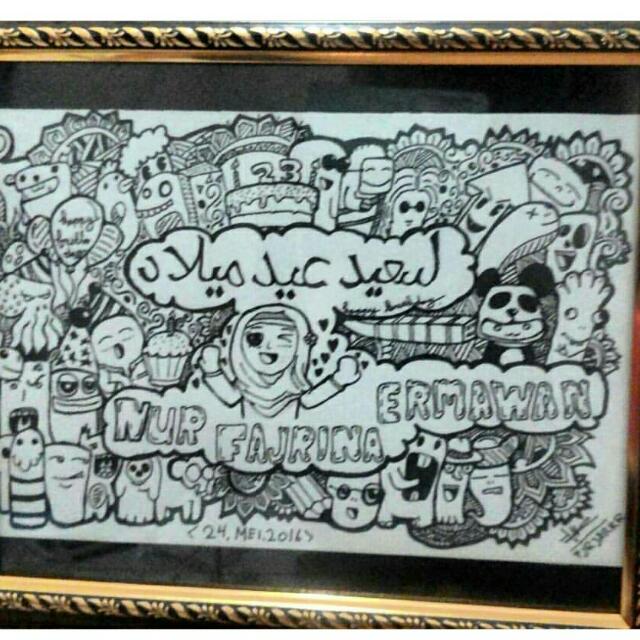 Doodle Art Birthday