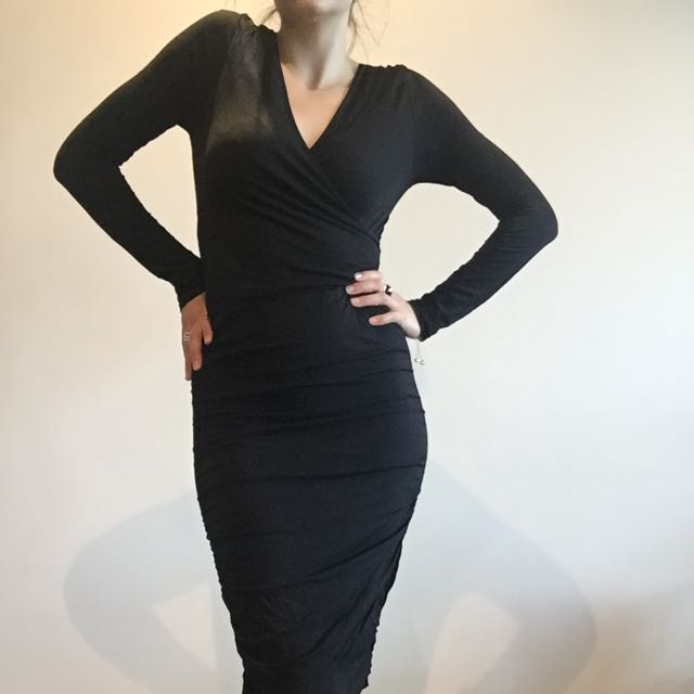 Dress - Black - Metalicus - Evening or Daytime