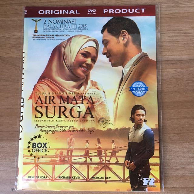"DVD Indonesia Original ""Air Mata Surga"""