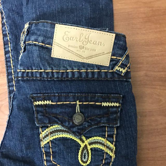 EARL Jean 女 牛仔褲 名牌
