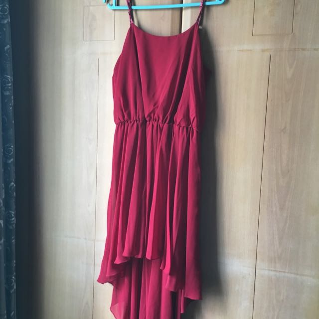 Formal Maroon Dress