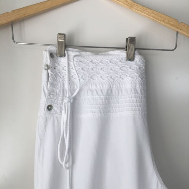 French Cotton Pants