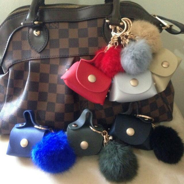 Furball With Bags Coin Purse