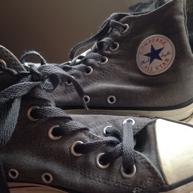 Grey All Star Converse