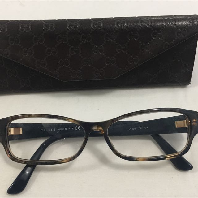 gucci eyeglasses authentic