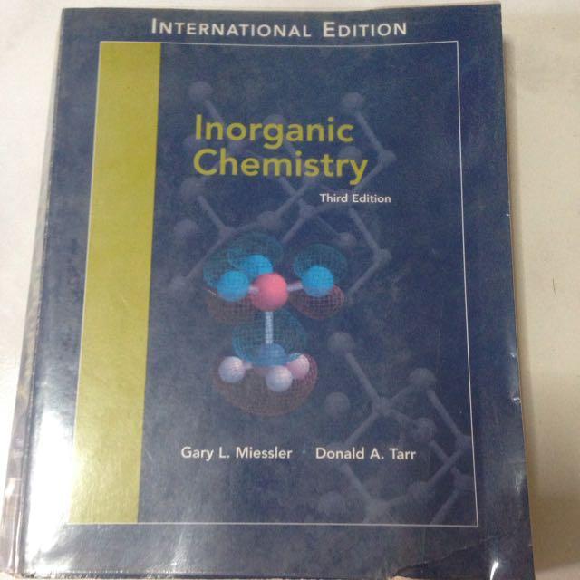 Inorganic chemistry 3rd edition books stationery textbooks on photo photo photo fandeluxe Images