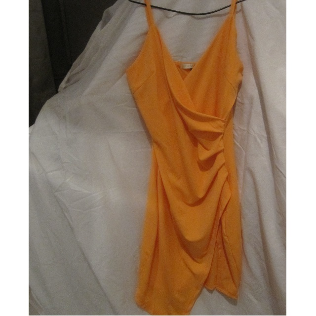 Jade Natalija Dress- Orange