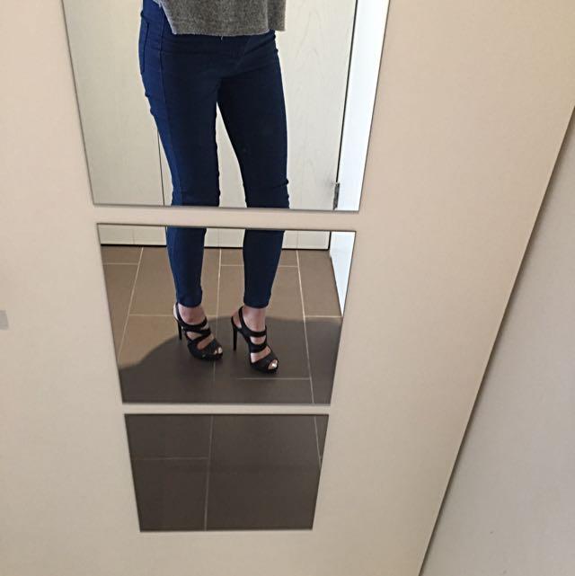Just Cavalli Black High Heels