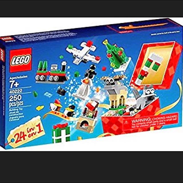 Lego Christmas Buildup
