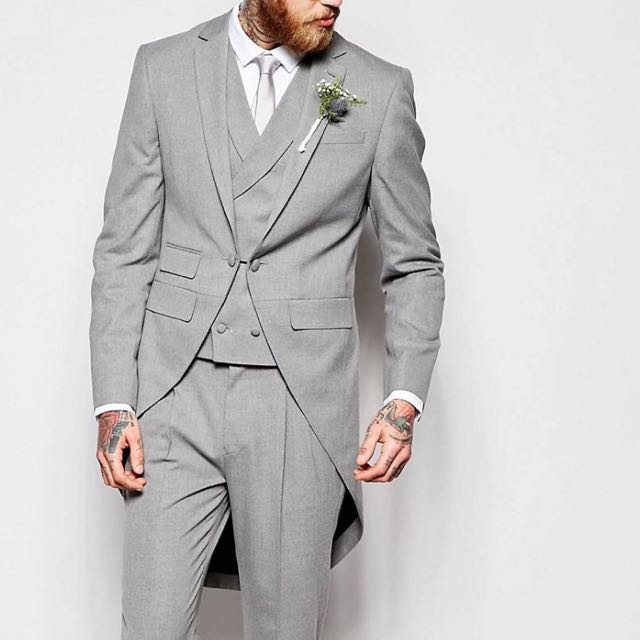 Men Wedding Suits In Grey