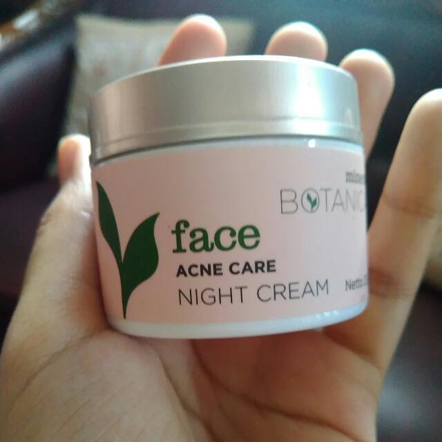 Mineral Botanica Acne Care Night Cream