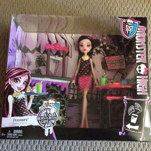 Monster High Beast Bites Cafe