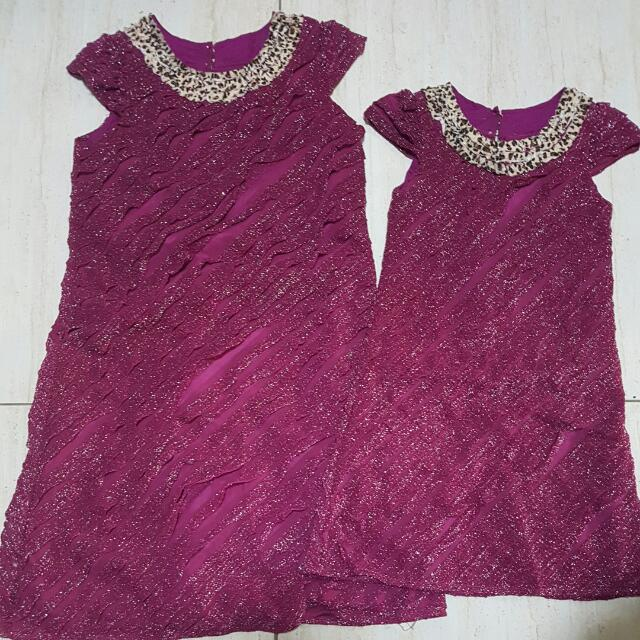 Mother & Daughter Dress - 26 & 33inch (300 for 2pcs)
