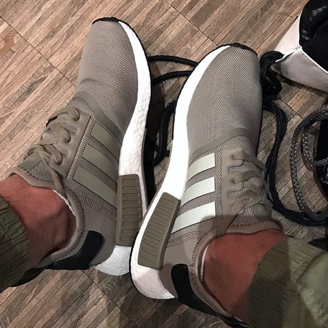 a3aba1e76 ALL SIZES  Adidas NMD R1 Trail Trace In Cargo Green   Black