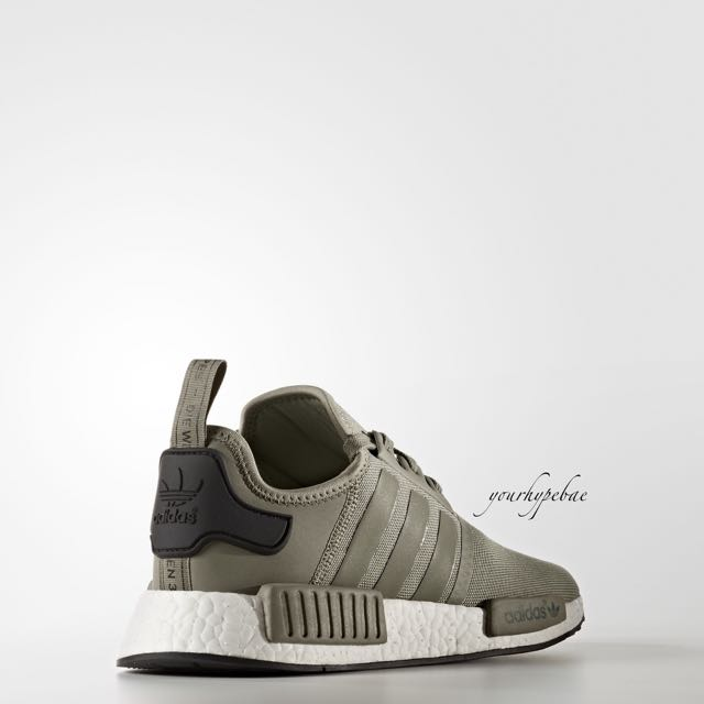 cd4a7149fa45d  ALL SIZES  Adidas NMD R1 Trail Trace In Cargo Green   Black