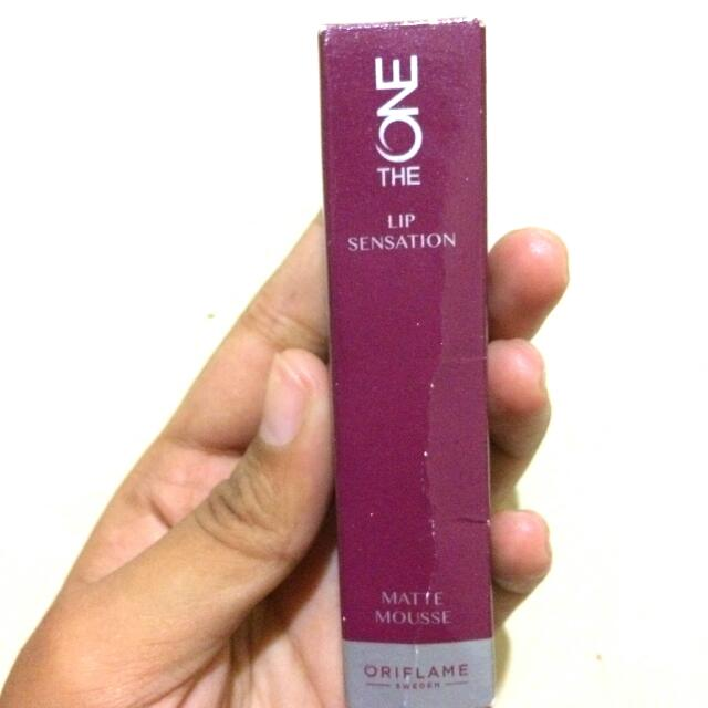 Oriflame Lip Sensation Matte Mousse
