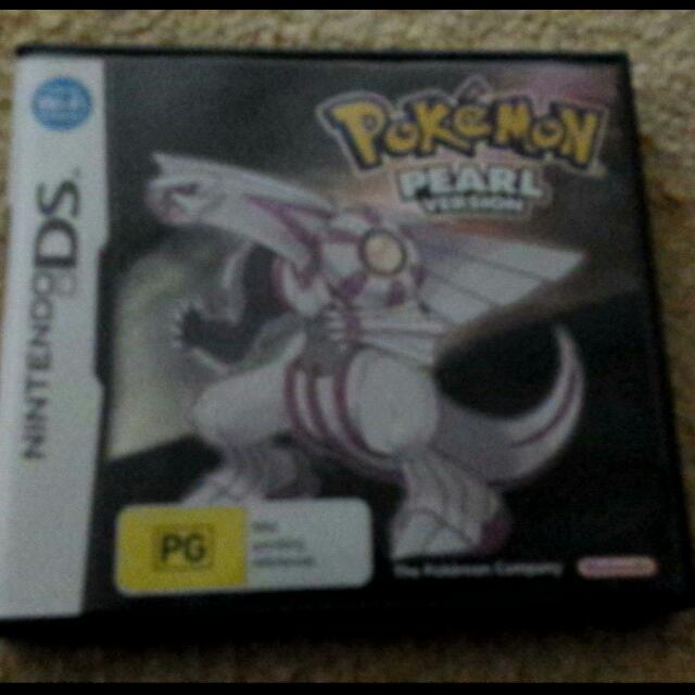 Pokemon Pearl DS Game