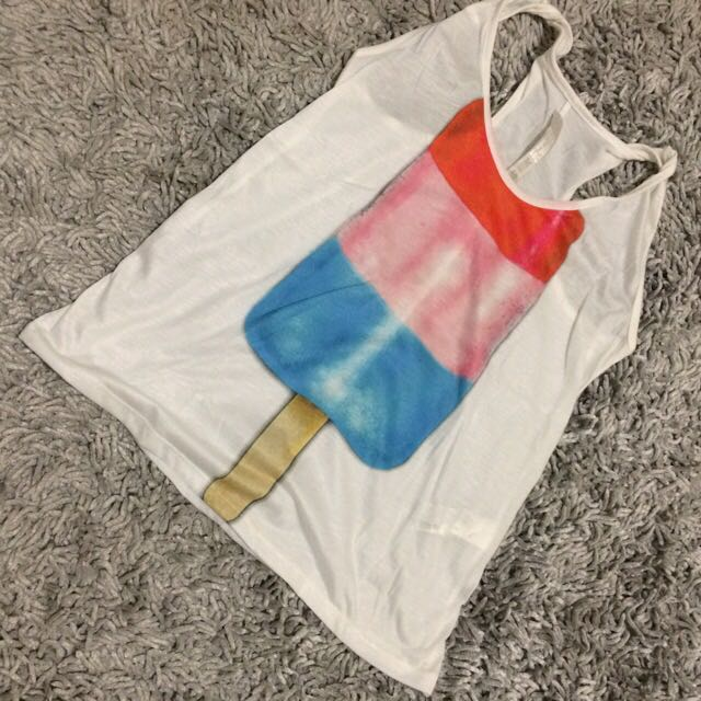 Popsicle Tank Top ZARA