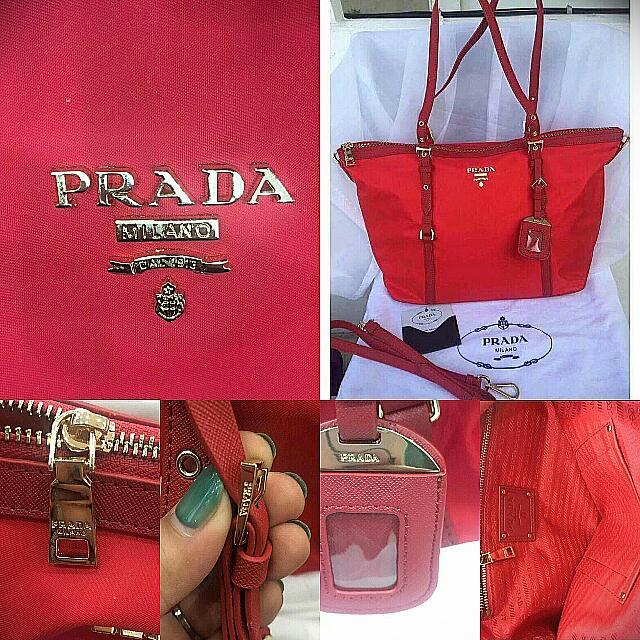Preloved Authentic Prada Bag