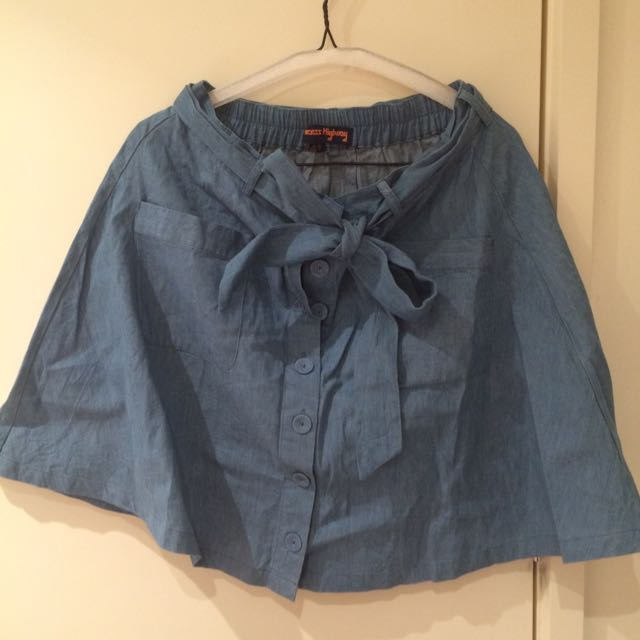 Princess Highway Denim Skirt - Size 12