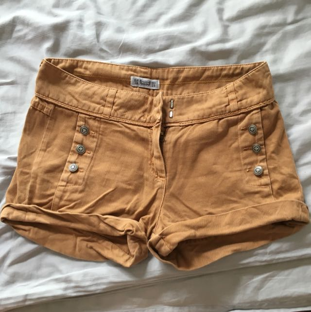 Pull And Bear Brown Shorts