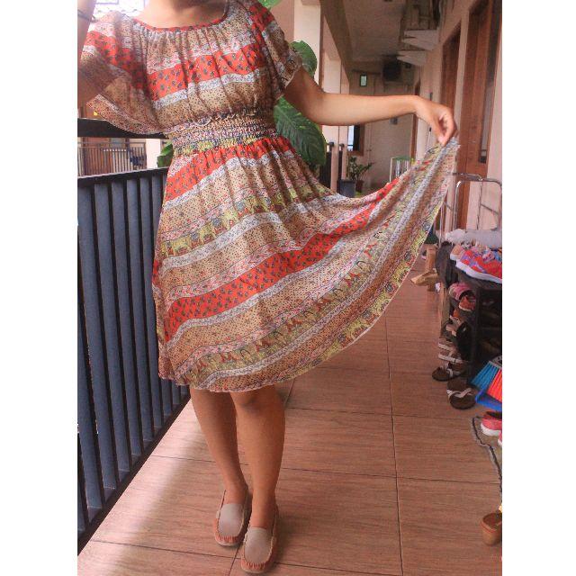 (REPRICE) Tribal Dress Cavalier