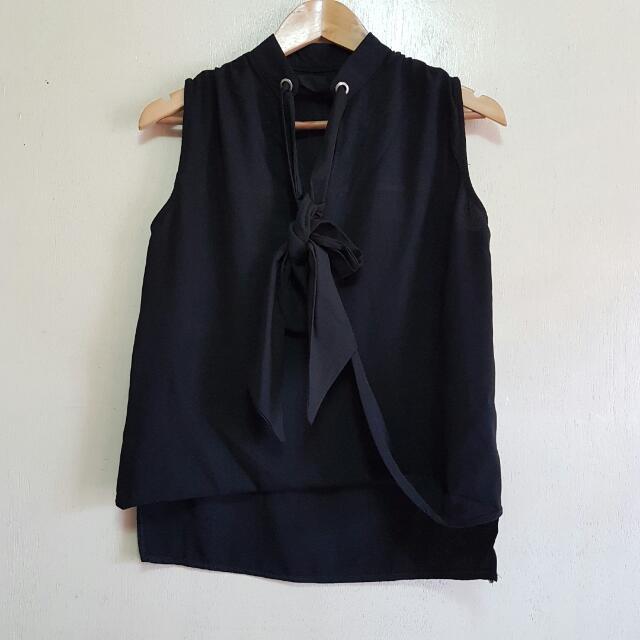 SALE Black Blouse