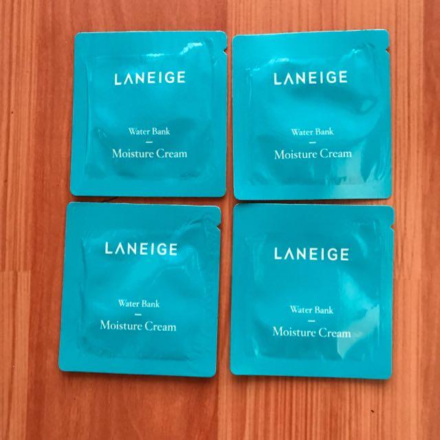 Sample Laneige Water Bank Moisture Cream