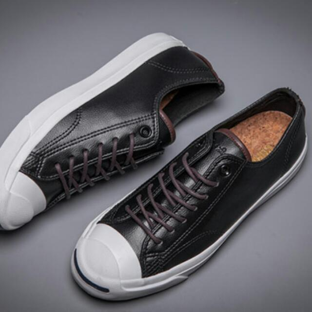 Sepatu Converse Jack Purcell Leather Original 34417ececd