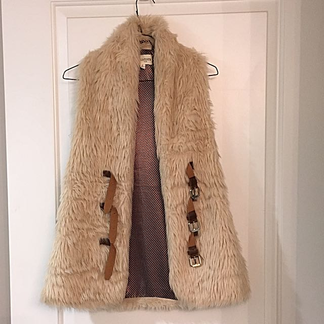 Small Fur Vest