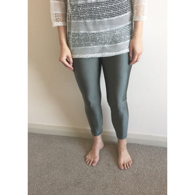 Steel Grey Leggings