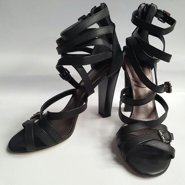 Strappy Heeled Sandals - Great for Summer! Sz 10 AU