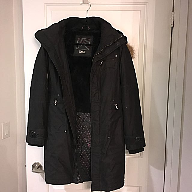 TNA Winter Jacket/Black/ Small