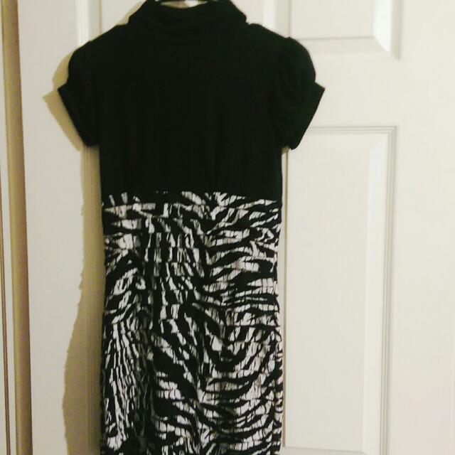 UB- Turtleneck Dress