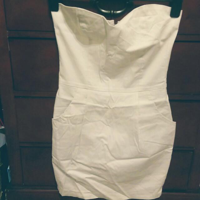 UB- White Dress