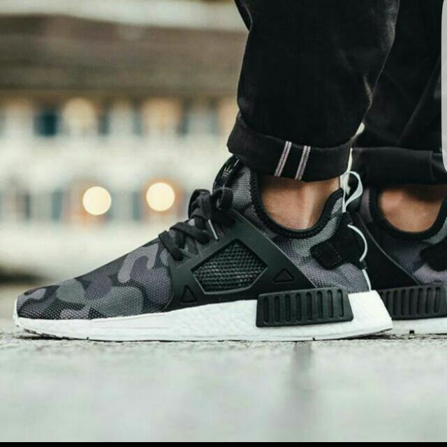 newest 7e45c 8a3a2 (RESERVED)UK 8 US 8.5 ADIDAS NMD XR1 Black Duck Camo
